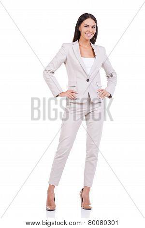 Confident Businesswoman.