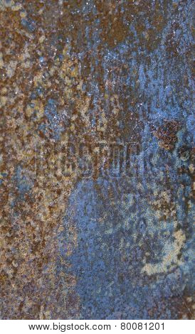Rusted background texture