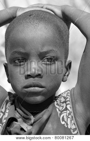 Child Himba