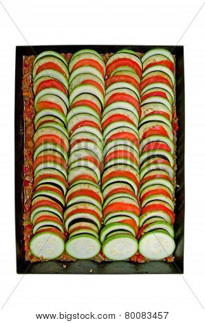 Delicious Food In A Pan Ratatouille