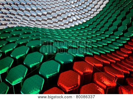 Bulgarian background  theme - 3D render
