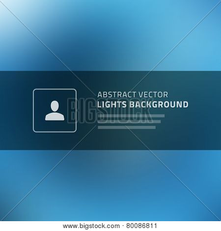 Abstract vector background for website header, banner, presentation or brochure, beautiful blurred light