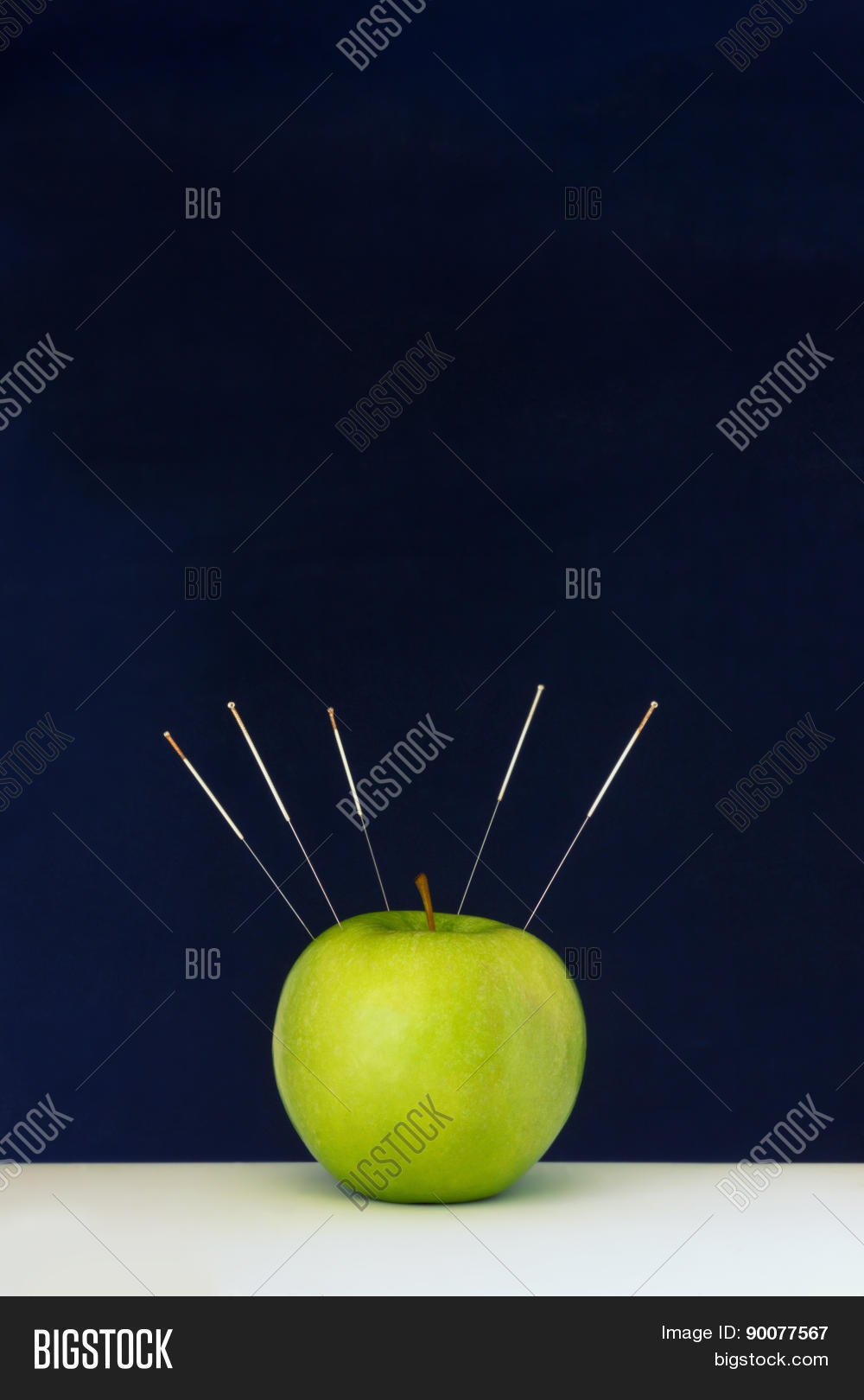 Acupuncture Needles Image Photo Free Trial Bigstock