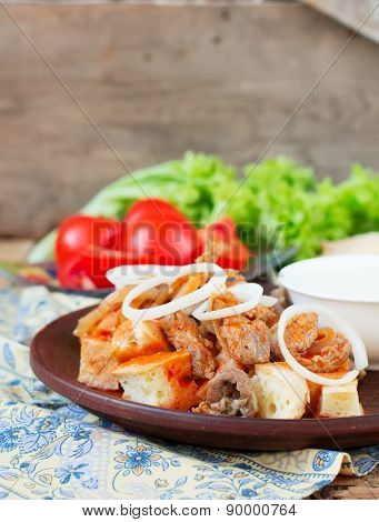 Iskender Kebab - Traditional Turkish Food