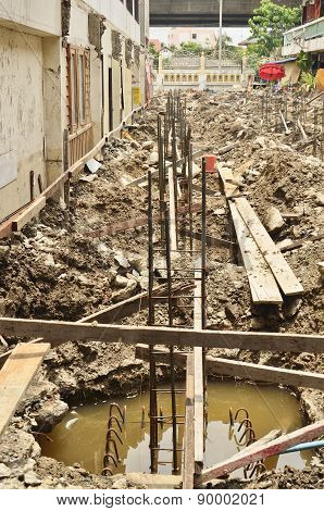 Metal Rods Bars Reinforcement For Concrete Pole