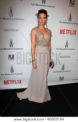 LOS ANGELES - JAN 11:  Kate Beckinsale at the The Weinstein Company / Netflix Golden Globes After Party at a Beverly Hilton Adjacent on January 11, 2015 in Beverly Hills, CA