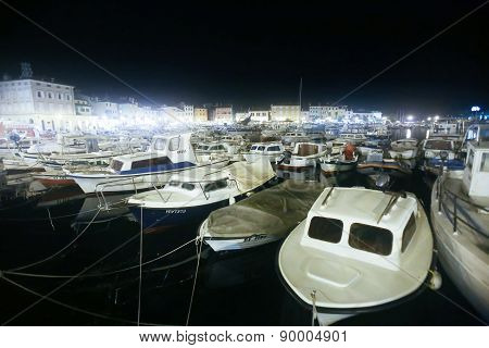 Marina And Seafront In Rovinj