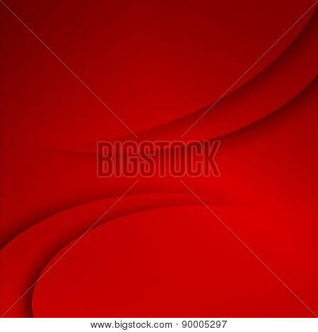 Red abstract business background.