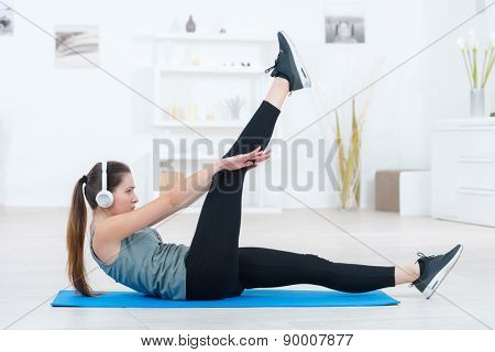 Workout routine at home