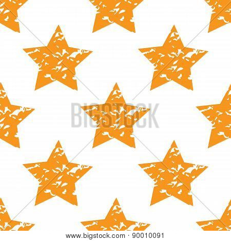 Grungy star pattern
