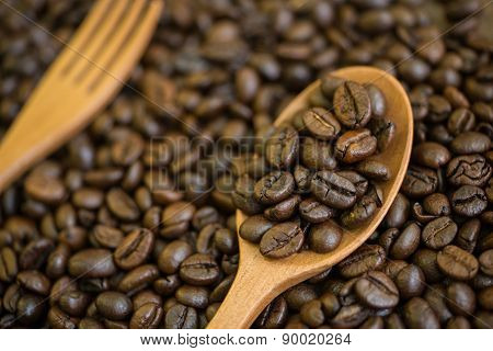 Coffee beans that have been roasted aroma and taste the best.