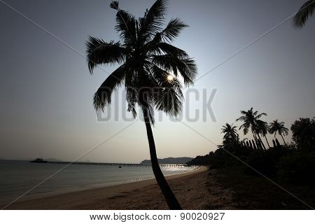 Asia Thailand Chumphon Beach