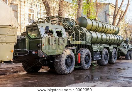 Anti-aircraft Missile System (sam) S-300