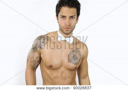 sexy brown stripper