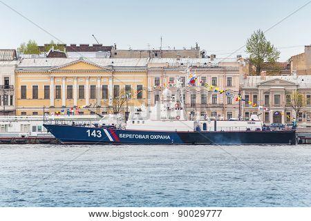 Russian Border Guard Svetlyak Class Patrol Craft