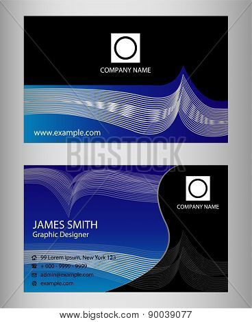 Templates for business cards