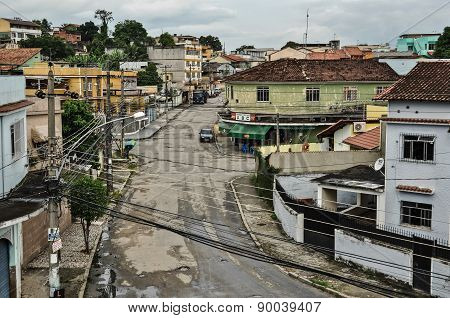 Street and houses of lower middle class