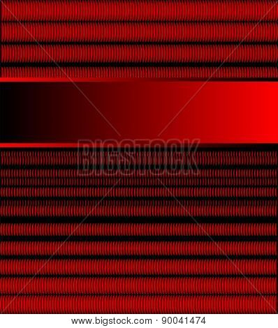 Red background vector for text message for design
