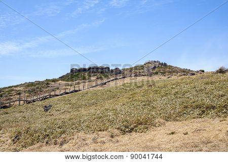 Witse-oreum At Yeongsil Trail In Hallasan