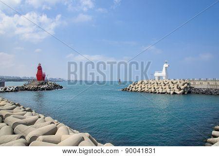 Horse Shaped Lighthouse