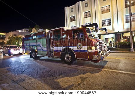 Firebrigade In Action