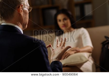 Conversation with psychologist