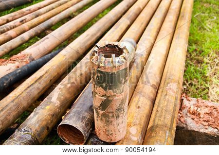 Tungsten Core Bit And Drilling Pipe Used In The Mining Industry And Coal Seam Gas Drilling