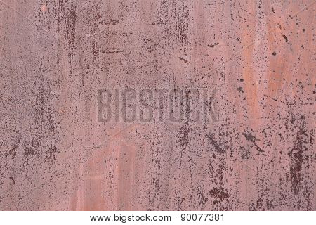 metal rusty surface with peeling  paint