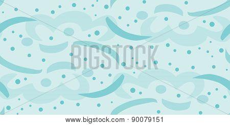 Seamless Streamers Underwater