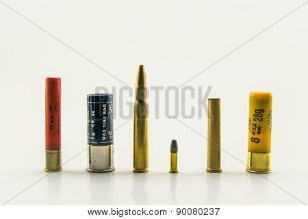 Ammunition Of Various Calibers