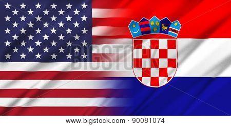 Usa And Croatia.