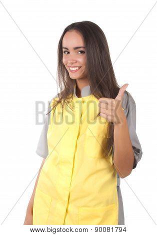 Friendly Woman
