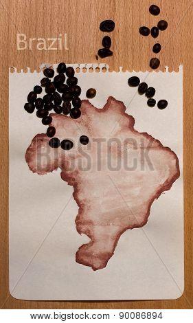 Map Of Brasil