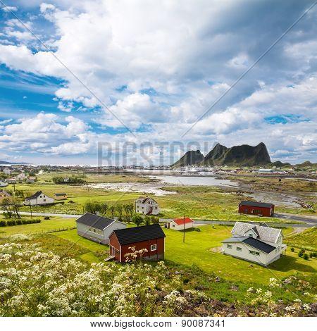 Vaeroy island, Lofoten island,Norway