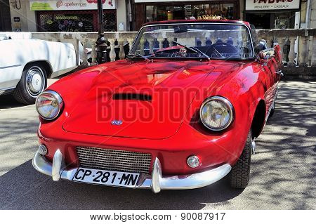 Db Panhard Le Mans Red Made From 1959 To 1962