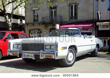 Before A White Cadillac Eldorado 1970