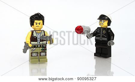 Cop and Fugitive