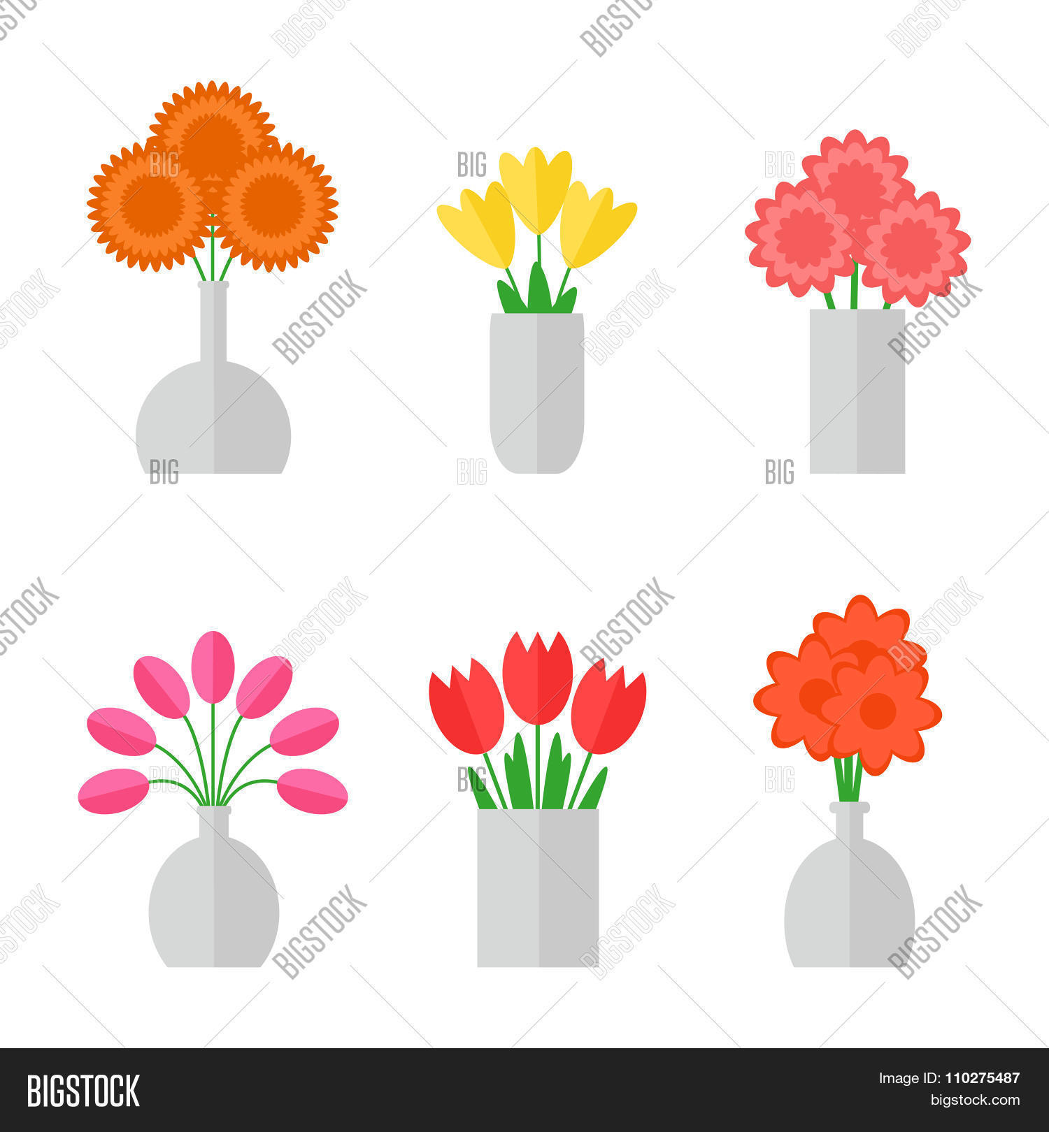 Flower Bouquet Vector Photo Free Trial Bigstock