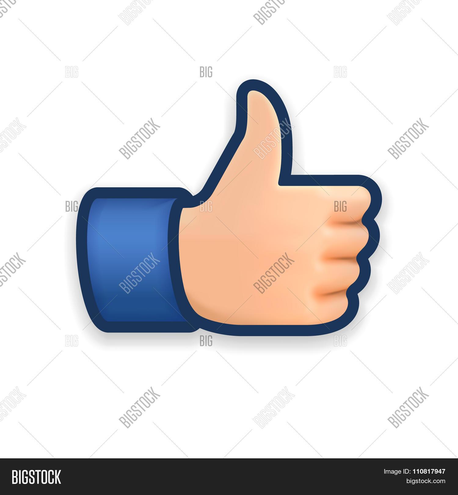 Like Icon Emoji Vector Photo Free Trial Bigstock