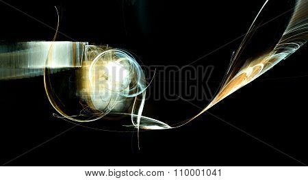 Abstract Explosion Flame Texture Background Design