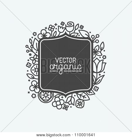 Vector Simple And Elegant Logo Design Template