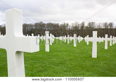 Tombstone in a War Memorial cemetery