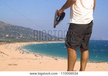 spanish beach bolonia costa de la luz