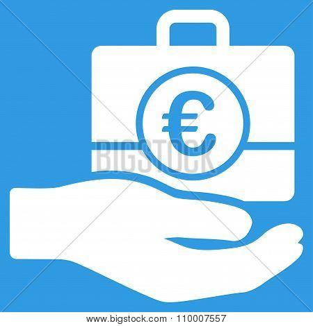 Euro Banking Service Icon