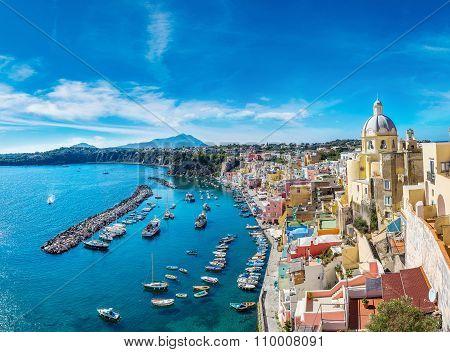 Procida Island In Italy
