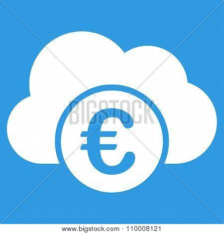 Euro Cloud Banking Icon