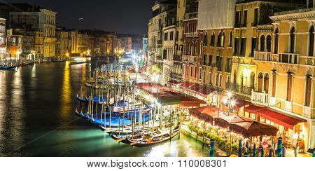 Canal Grande In Venice, Italy