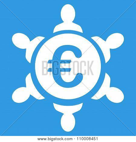 Euro Collaboration Icon
