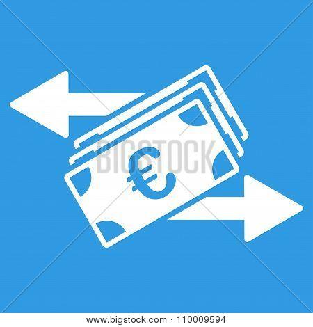 Euro Money Transfer Icon