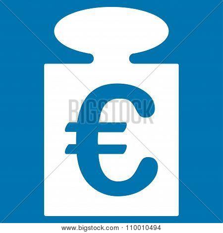 Euro Weight Icon